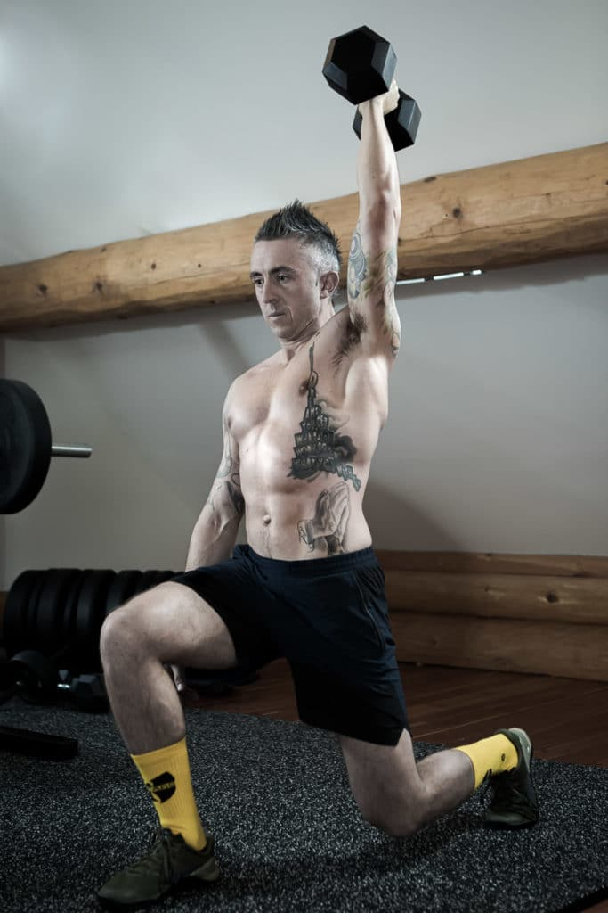 Kyle working out - KYLE CHAPMAN - Realignment Lab Whistler