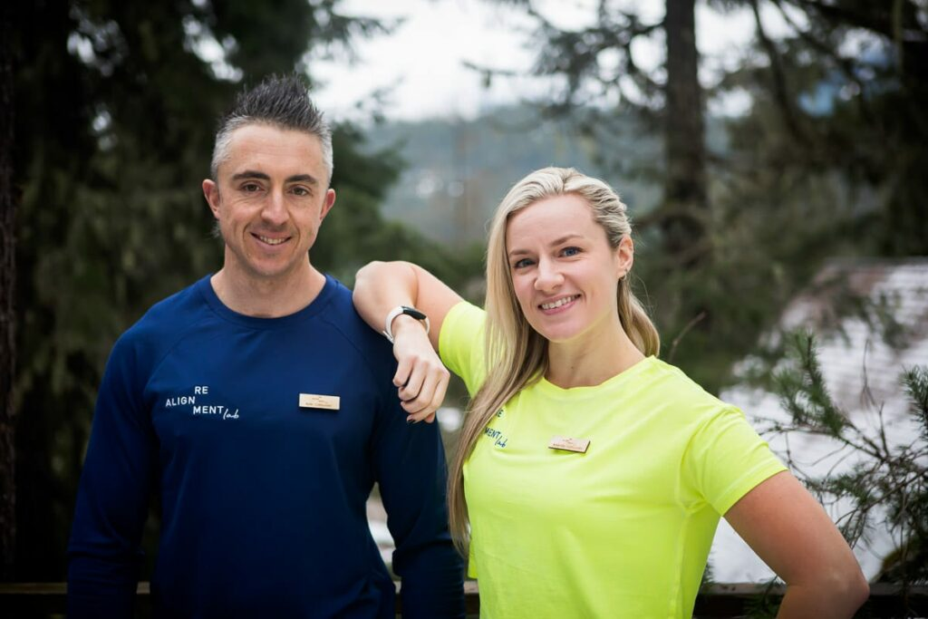 Kyle and Amanda - Realignment Lab Whistler
